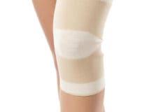 Opaska elastyczna stawu kolanowego bezszwowa zbursztynem lub bez