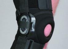 Orteza stawu kolanowego stabilizująca zregulacją kąta zgięcia co 20 st.
