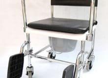Wózek fotel toaletowy